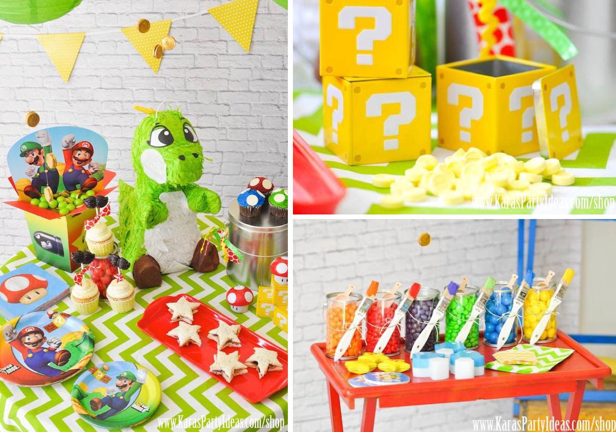 Mario Cake Decorating Supplies