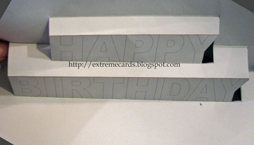 extreme cards and papercrafting happy birthday pop up card, Birthday card