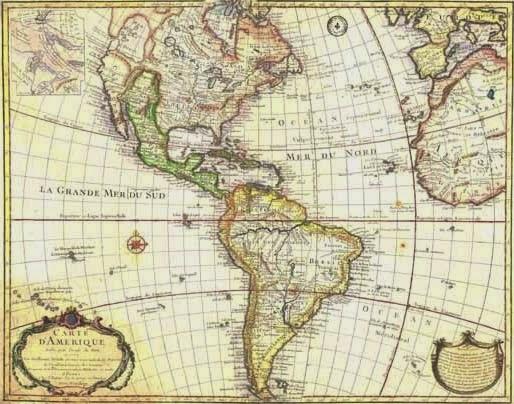 Mapa del Nuevo Mundo