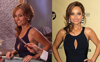 Giada Rewears Monaco Dress To Golden Globes