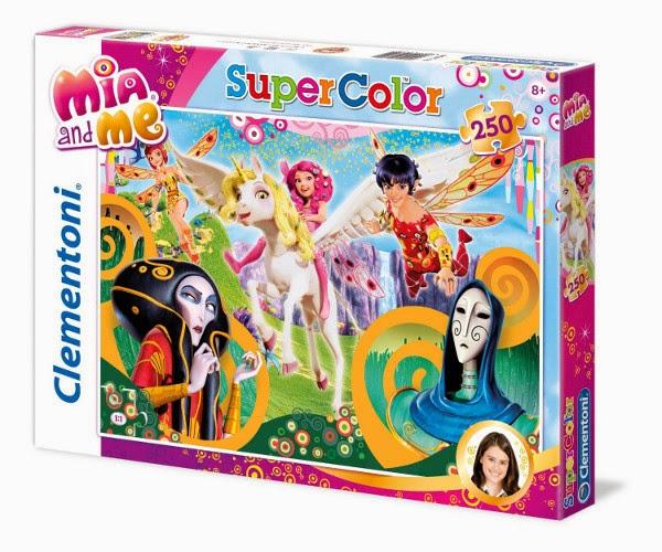 TOYS - PUZZLE - Clementoni - Puzzle Mia and Me - Panthea : 104 piezas  Producto Oficial de la serie de TV | Clementoni | Juguete | A partir de 6 años