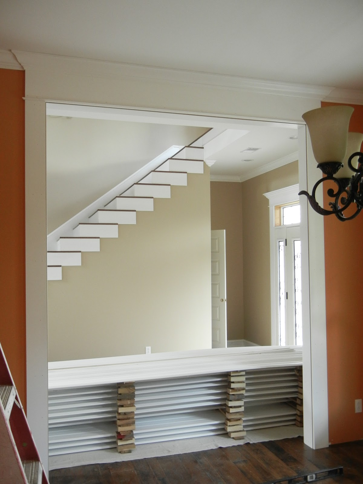 Dining Room Entry Trim