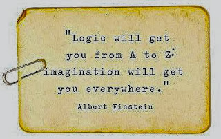 Logic Will Get You from A to Z - Imagination Will Get You Everywhere