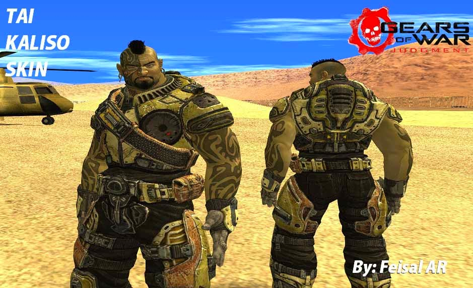 tai kaliso gears of war gta