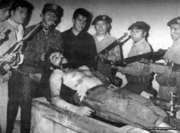Ernesto Che Guevara Dead