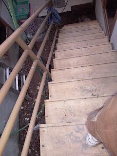 Bengkel Railing Tangga Minimalis Tempa