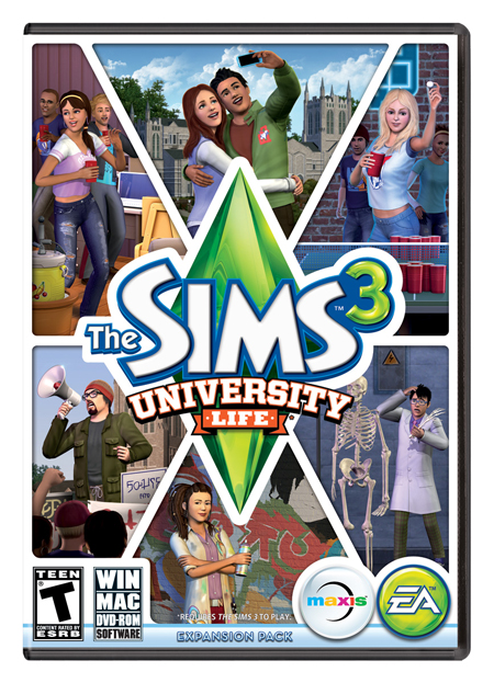 The Sims 3 University Life