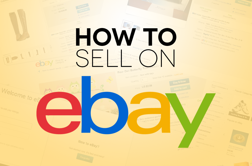 sell on ebay and make money