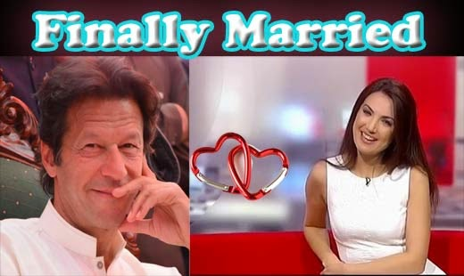 Imran Khan Finally announced his second marriage with Reham Khan