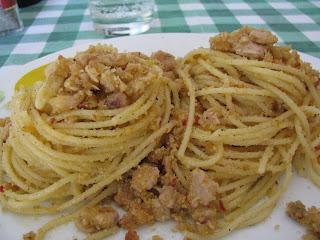 spaghetti con ....