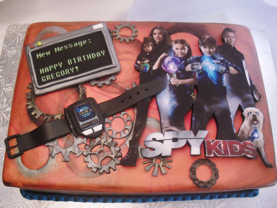 Made Fresh Daily Spy Kids 4 Birthday Cake