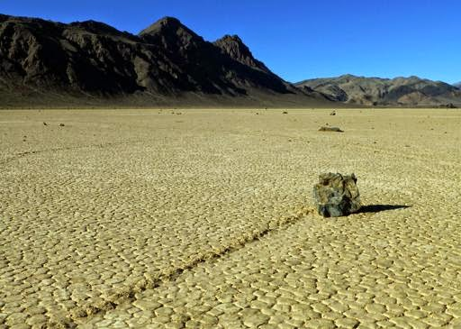 Mystery of Death Valley s moving rocks solved