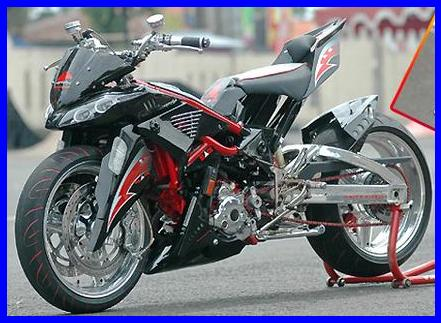 Modifikasi Motor Jupiter Mx Touring