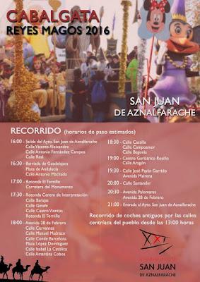 San Juan de Aznalfarache - Cabalgata de Reyes Magos 2016
