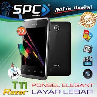 SPC T11 Razor Ponsel Dengan Fitur Menarik Seharga Rp. 300 Ribuan
