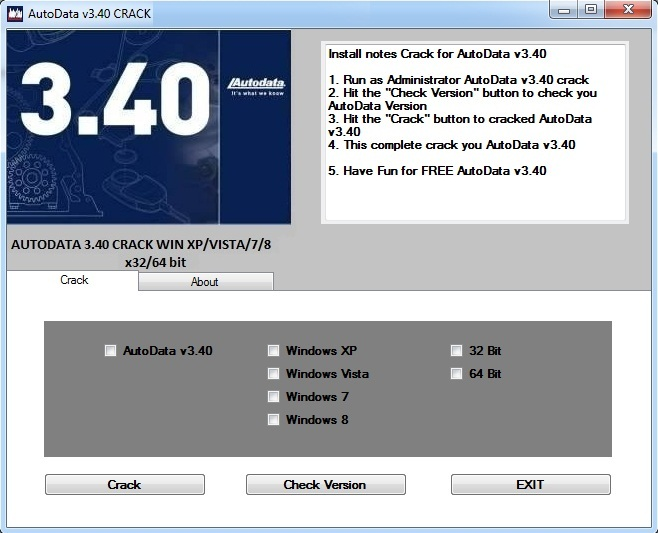 Autodata 3 40 crack windows 8