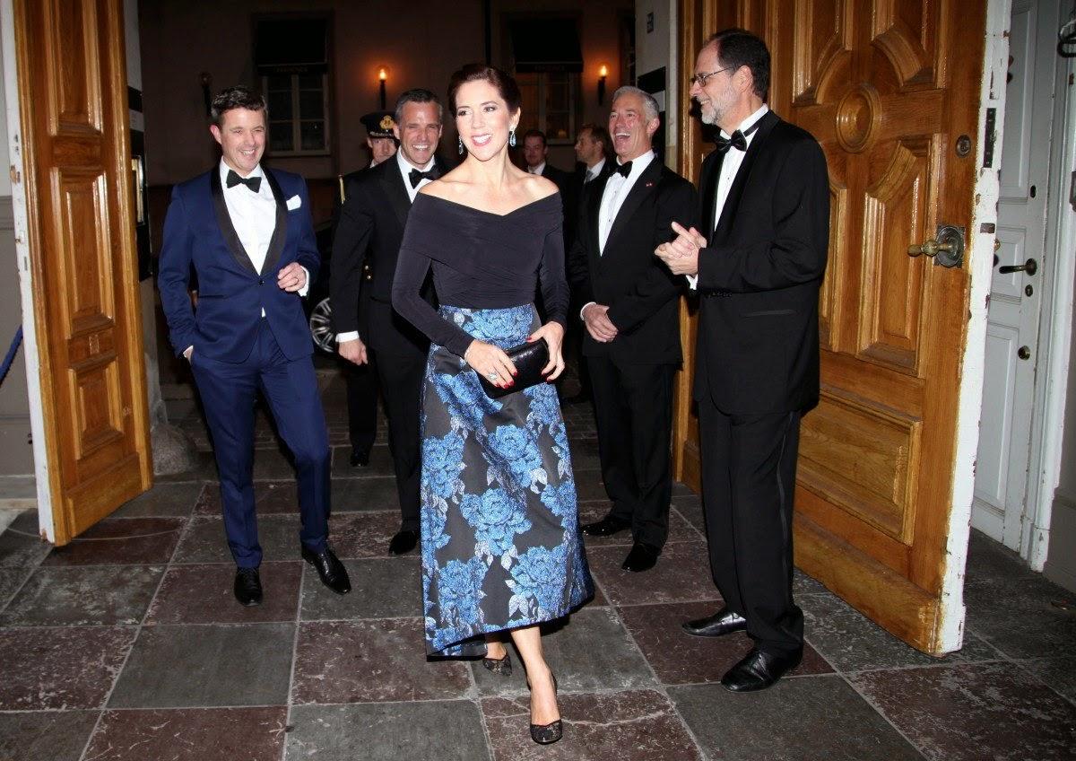 royals fashion gala de la chambre du commerce