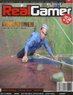 Edit Foto di Cover Majalah