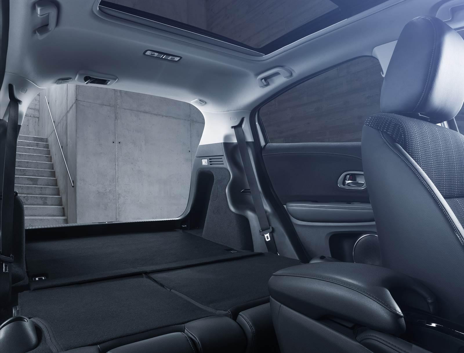 Honda HR-V - espaço porta-malas
