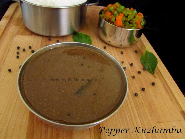 Pepper Kuzhambu