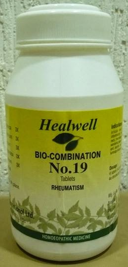 bio-combination no 19 for Rheumatism
