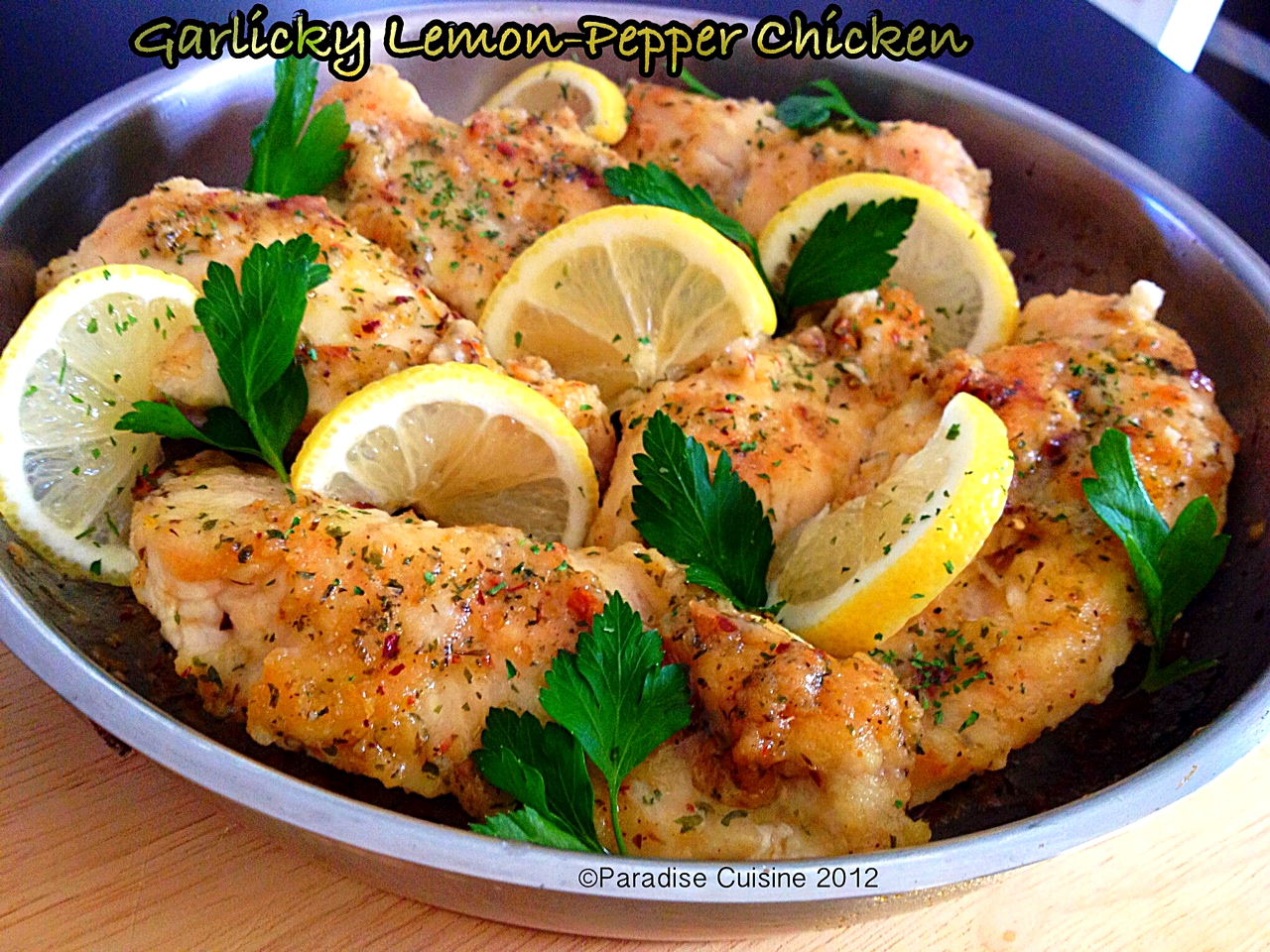 how to prepare lemon pepper chicken