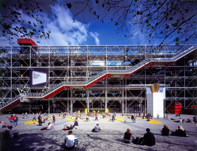 Centre Pompidou, Paris, France