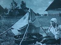 Odpoczynek przy kołysce, Polesie 1937