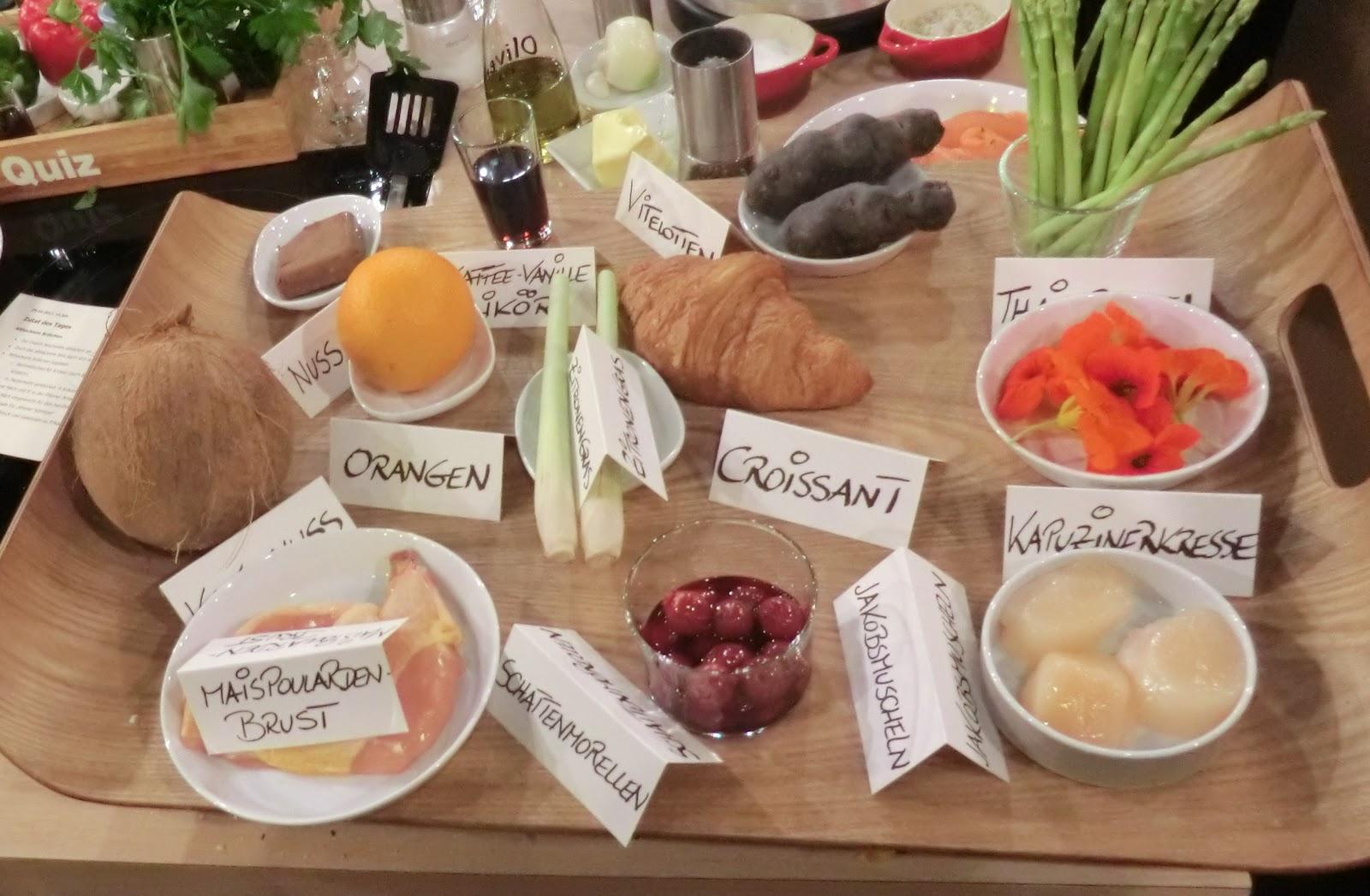 Sommerküche Quiz : Geschichten um`s essen