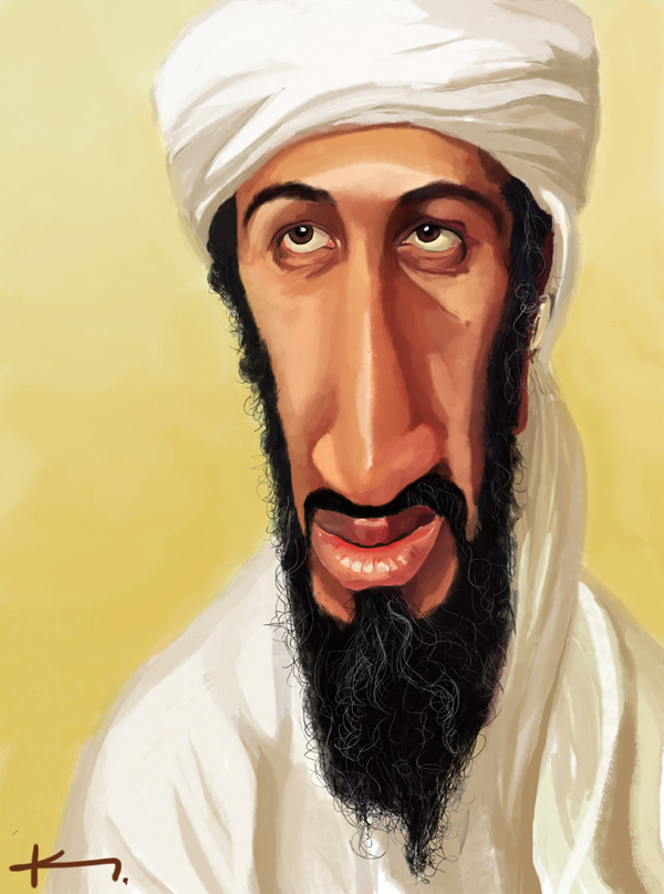 osama bin laden bush. osama bin laden and george