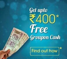 Get Rs 2000 Groupon Credits @ Rs 1600