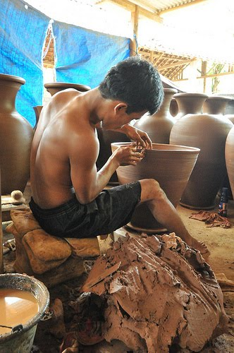 Pottery in Kasongan