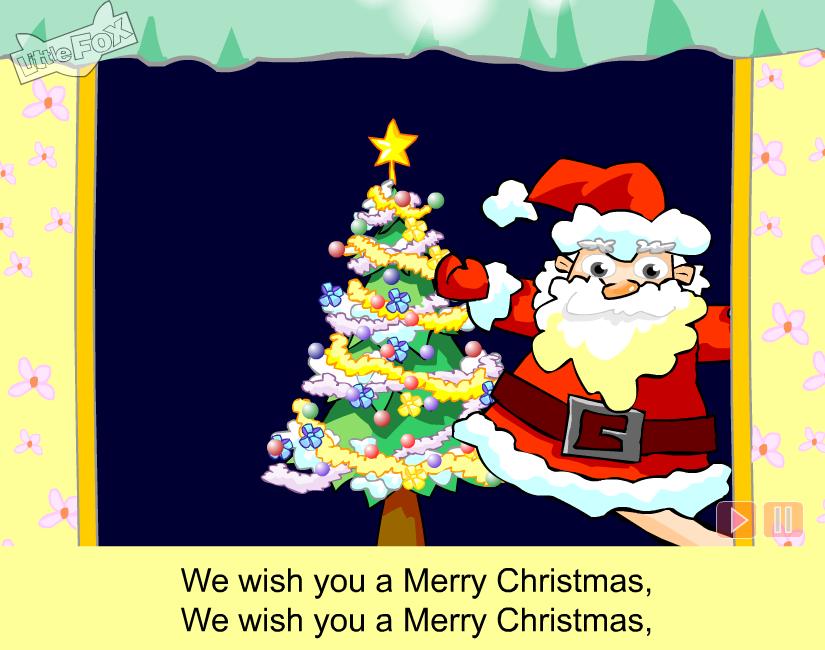We wish you a merry christmas ютуб