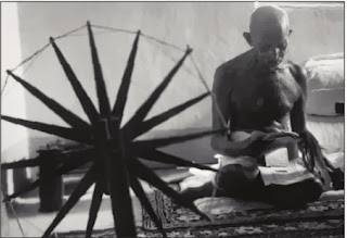 Famous 'Charkha' used by Gandhi Sold for £110,000