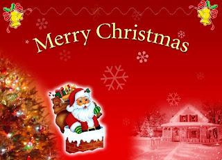 Christmas Santa Greeting