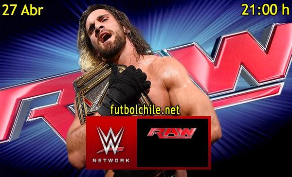 WWE Monday Night Raw en Español Lunes 27 de Abril 2015 - 21:00 hrs