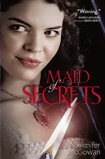 book cover of Maid of Secrets by Jennifer McGowan