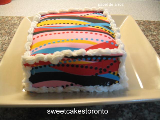 Sweet cakes toronto tortas faciles para navidad for Tortas decoradas faciles