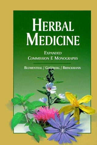 Commission E出版的著作,往往被視為藥草學聖經