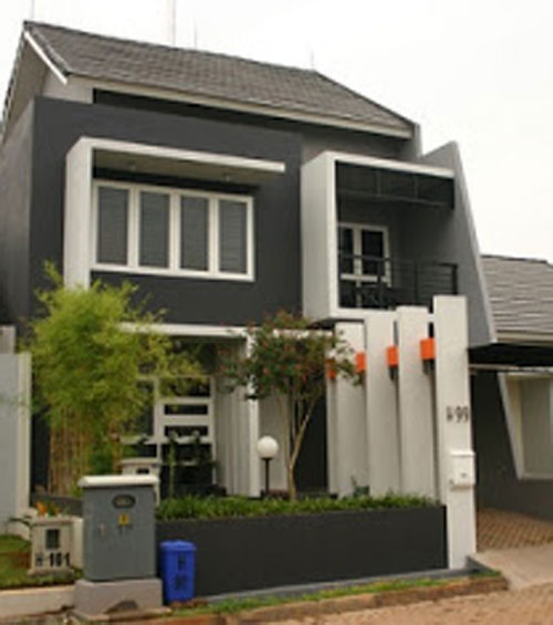 rumah minimalis 2 lantai model rumah minimalis desain