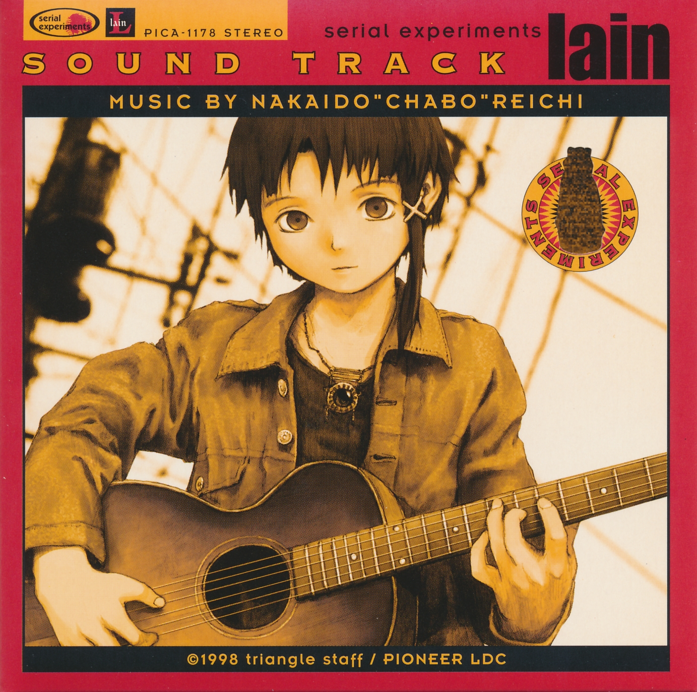 Serial experiments lain ost tracklist rodeo