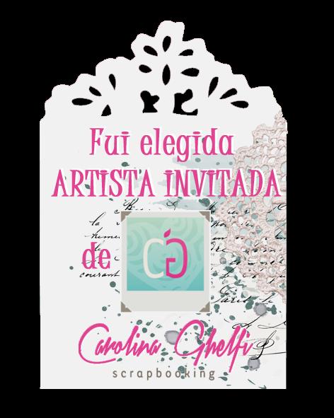 ARTISTA INVITADA DE CAROLINA GHELFI MES DE SEPTIEMBRE 2015