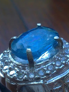 natural blue kyanite