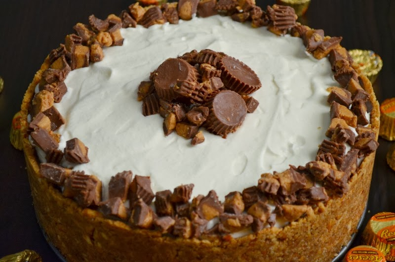For the Love of Dessert: Deep Dish Peanut Butter Pie