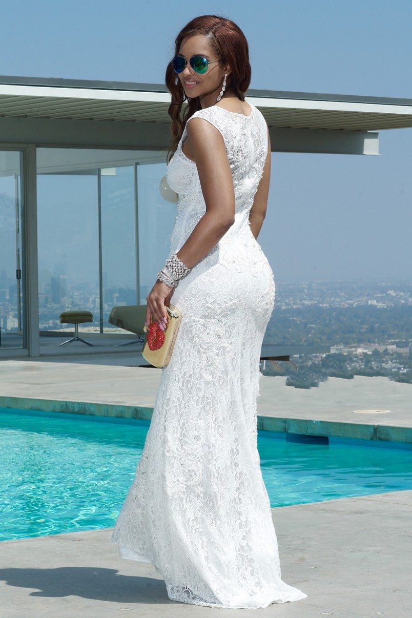 Beach Wedding Dresses 2015 Images