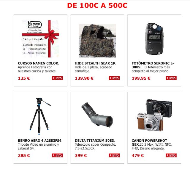 ENTRE 100 Y 500€
