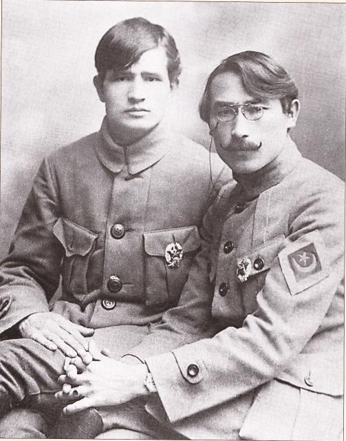 Quelques photos de la division bachkir en 1919, dont l'élément