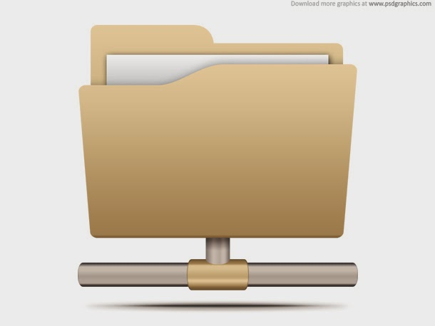 File Sharing Icon PSD