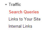 traffic search queries