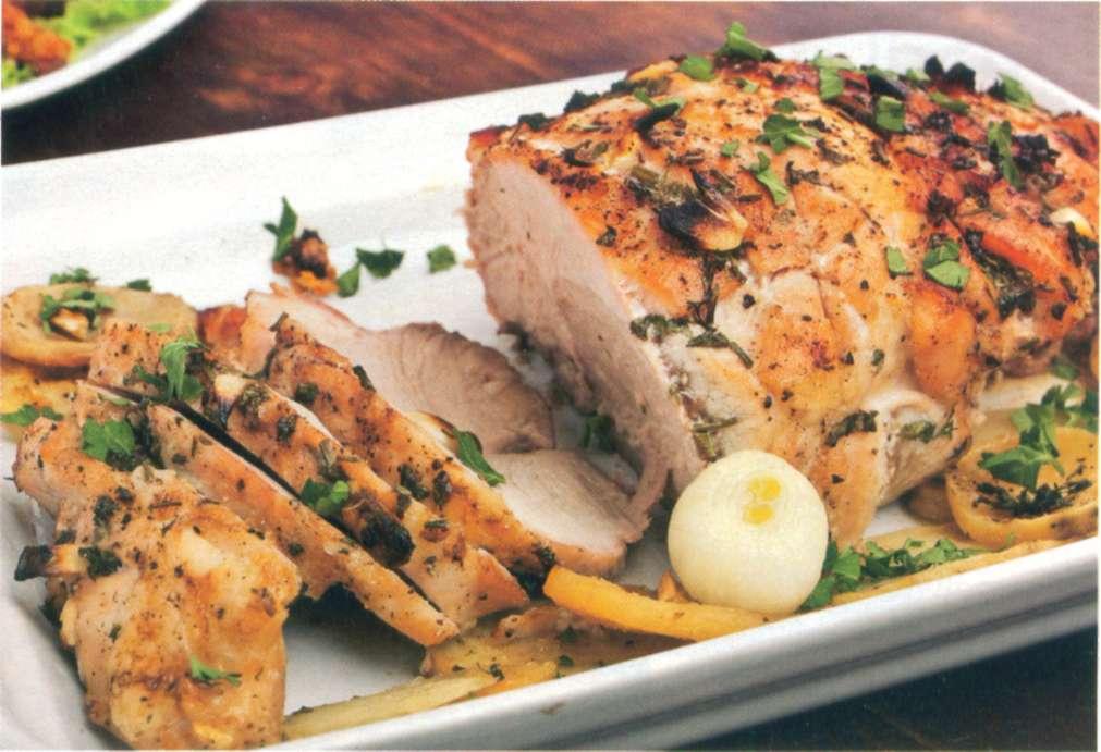 Reţetă: friptură de porc aromată